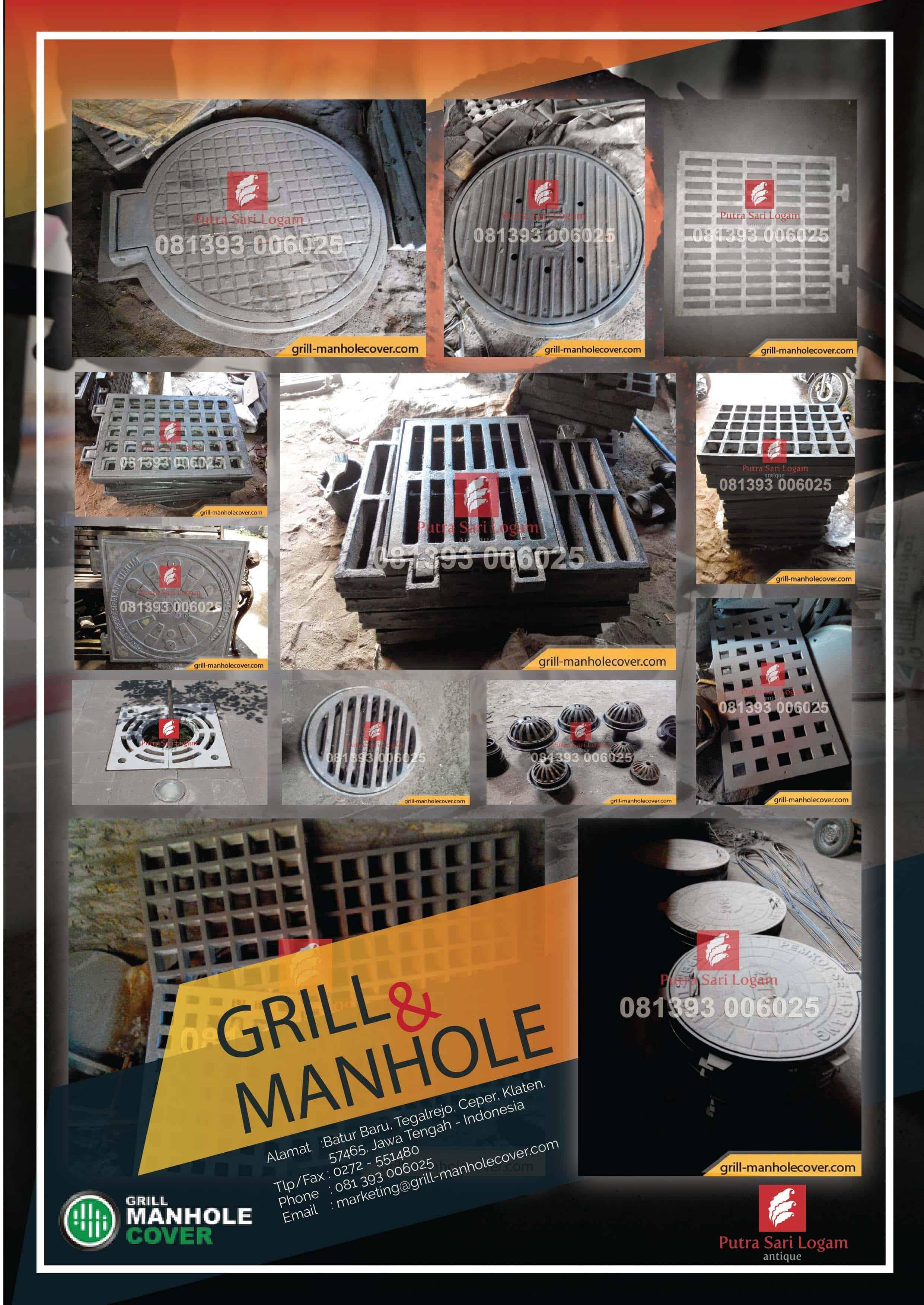 katalog manhole cover