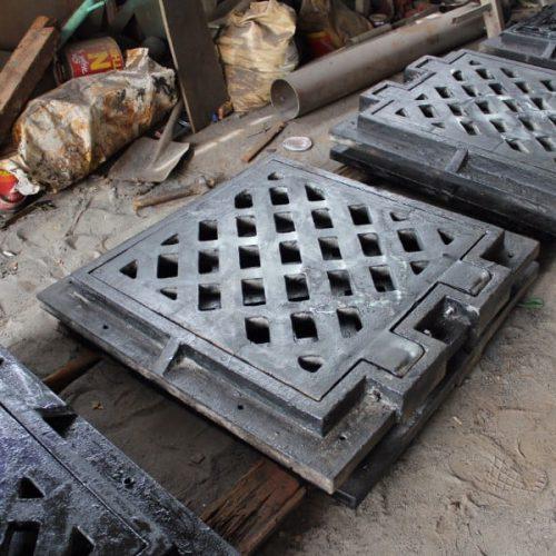 grill tangkapan air persegi - proyek surabaya