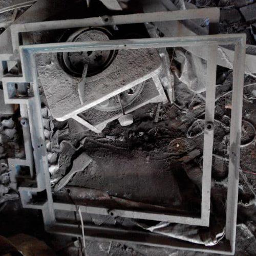 frame manhole cover pedestrian