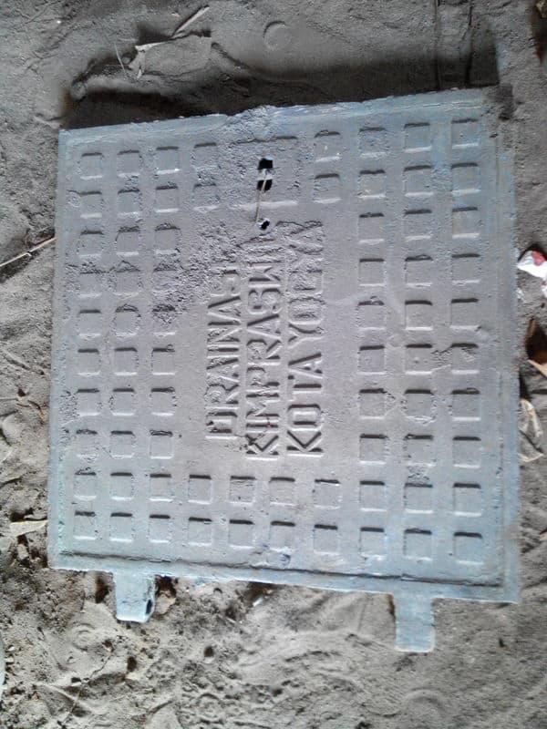 manhole cover kimpraswil jogja