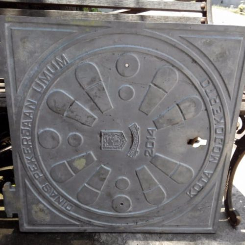 proyek manhole cover mojokerto