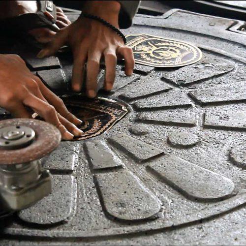 manhole cover - penutup lubang jalan