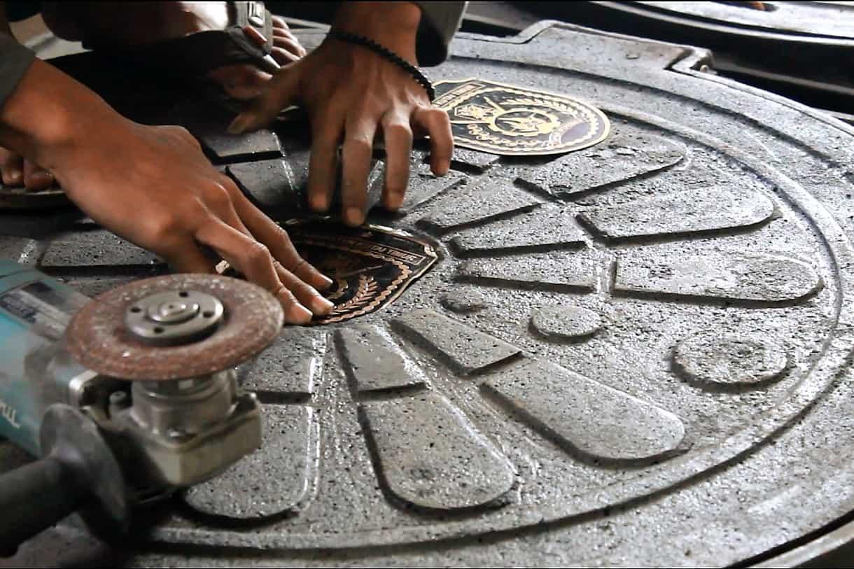 Manhole Cover Gajahan