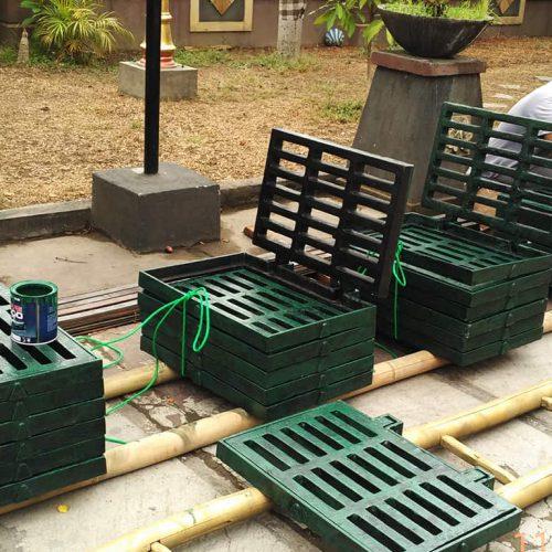 Proyek Grill-Manhole Cover Drainase Jalan - Karya Nyata GMC