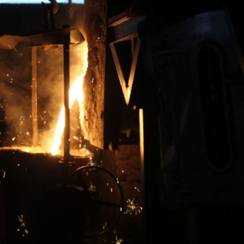 proses pengecoran logam