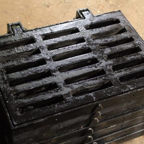 grill drainase jalan berengsel