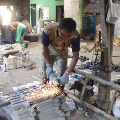 proyek grill saringan air jalan yogyakarta
