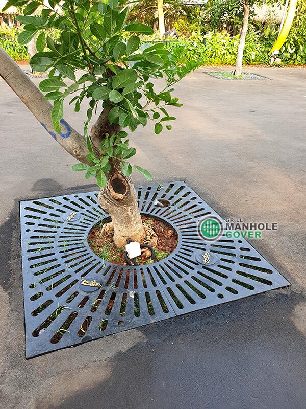 Grill Pohon Tata Kota Lombok