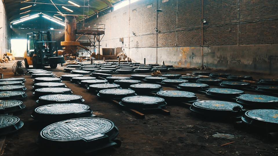 Manhole Dinas PU Kota Medan