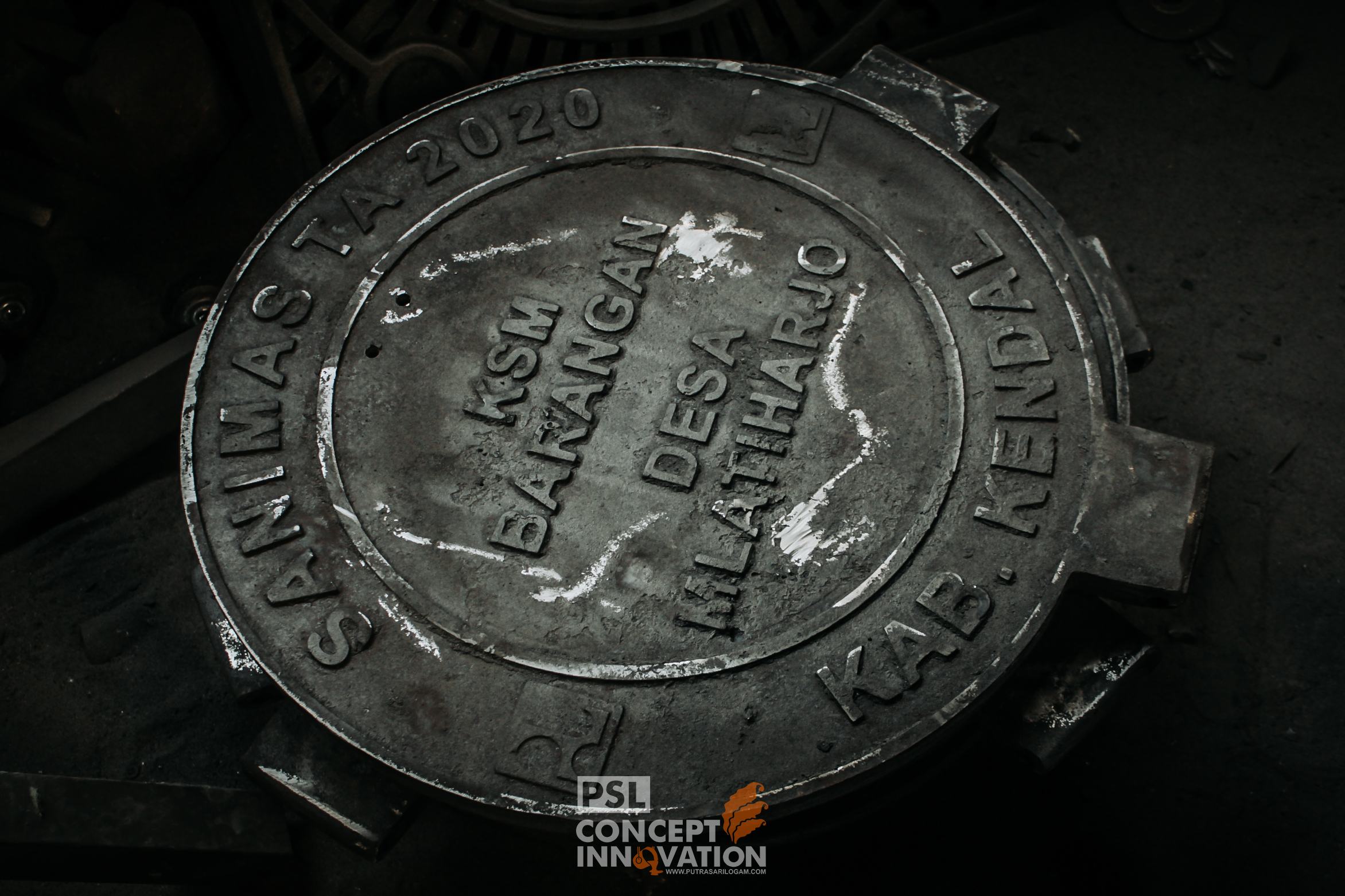 Manhole Cover Penutup Lubang Untuk Kota Kendal