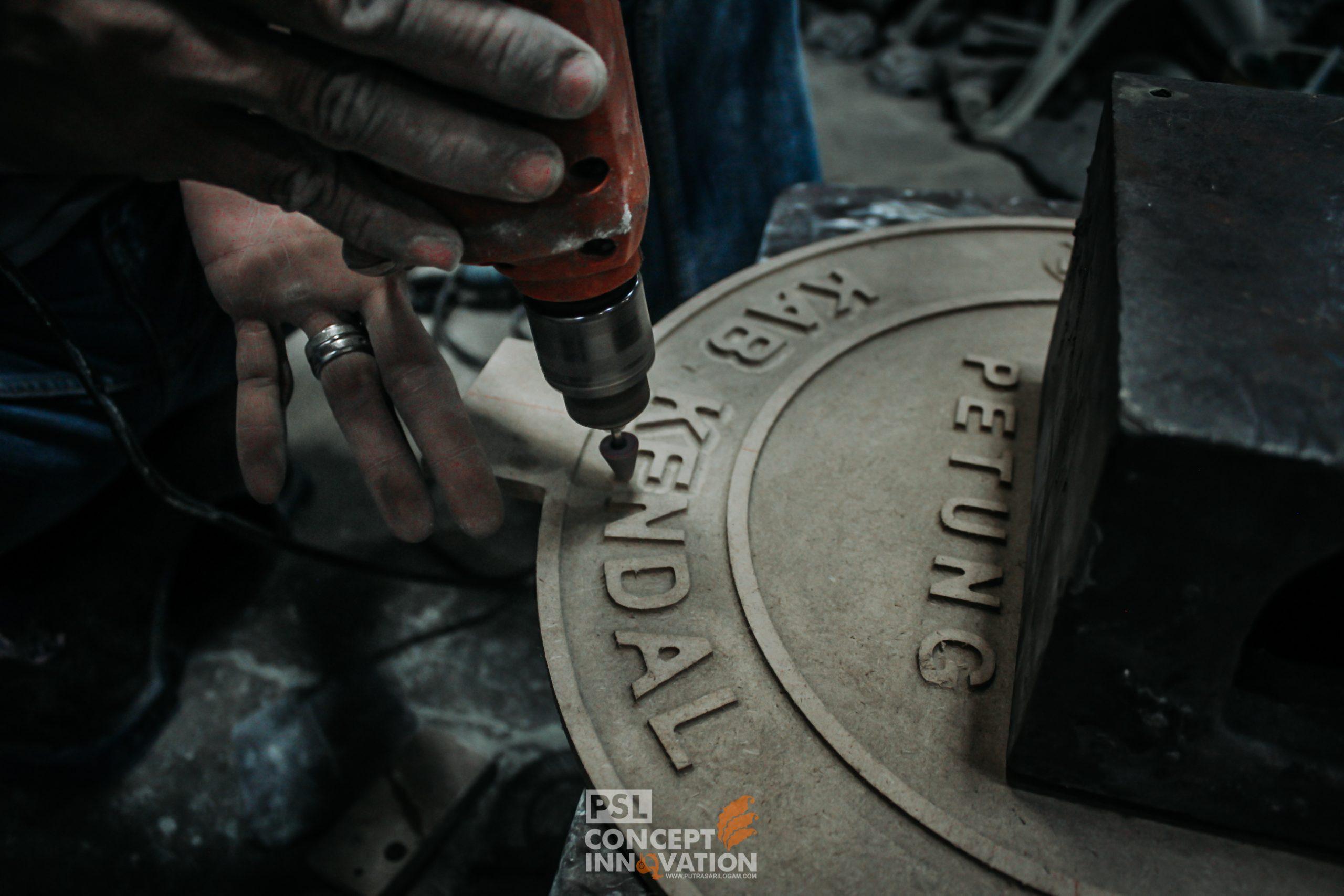 Manhole Cover Desa Petung Kendal