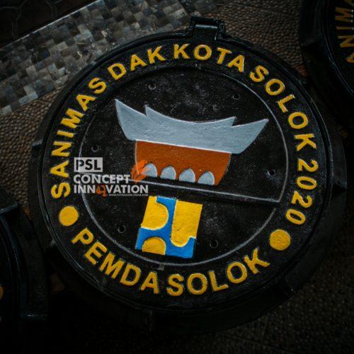 manhole cover pemda solok