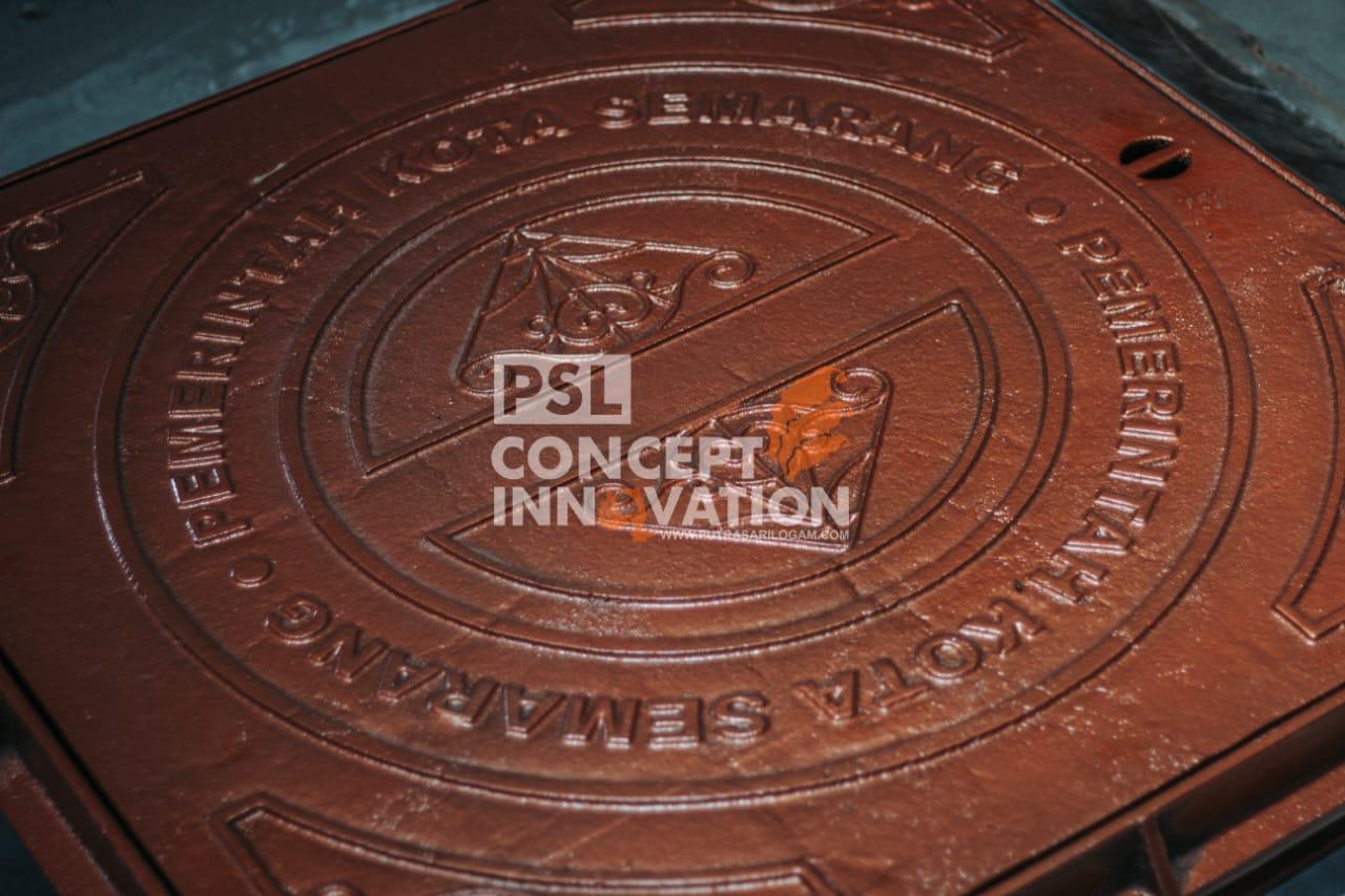Manhole Cover Antique Untuk Kota Semarang