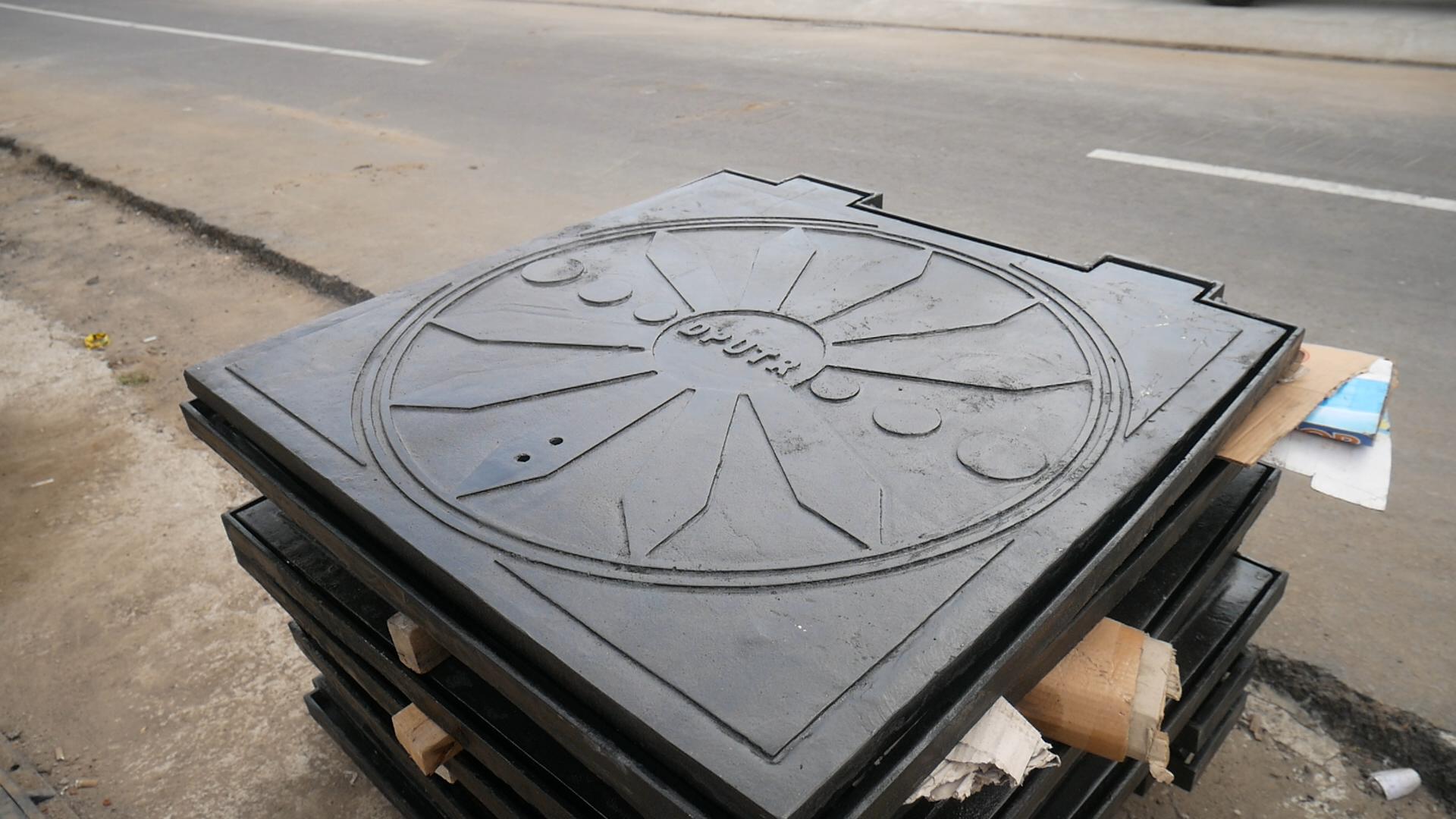 Manhole Cover Tata Ruang Pengairan Musi Rawas