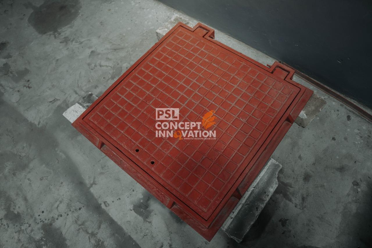 Manhole Cover Untuk Kota Surabaya
