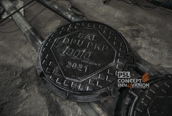 manhole cover antique